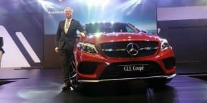 Mercedes-Benz GLE 450 AMG Launched at Rs. 86.40 Lakhs