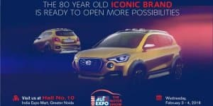 Datsun GO-Cross Teased Ahead of 2016 Auto Expo Debut