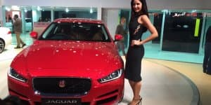 Auto Expo 2016 - All-New Jaguar XE Launched at Rs. 39.90 Lakhs