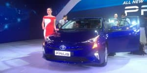 2016 Toyota Prius Debuts in India at 2016 Auto Expo