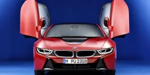 BMW i8 Protonic Red Edition Revealed
