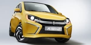 Suzuki A-Wind Concept Revealed; likely to replace A-Star in India