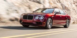 Bentley Flying Spur V8 S introduced ahead of Geneva debut