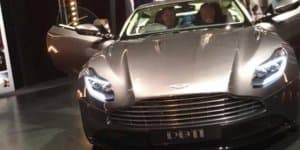 Aston Martin DB11 Leaked Ahead of Geneva Debut