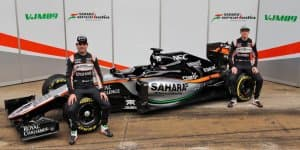 Sahara Force India reveals new F1 car in Barcelona