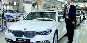 BMW India Rolls Out First Locally Prodcued All-New 7 Series