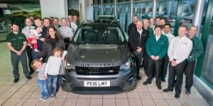 Video - 100,000th Land Rover Discovery Sport Rolled out