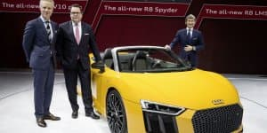 All-New Audi R8 Spyder Debuts at 2016 New York Auto Show