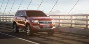 Ford Endeavour Production Starts in South Africa