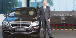 Mercedes India registers highest ever sales in FY2016