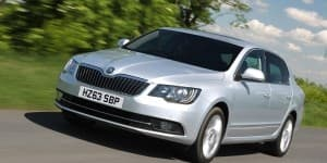 New 2014 Skoda Superb Facelift Coming in February