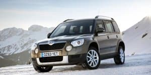 2014 Skoda Yeti Facelift coming to 2014 Auto Expo