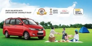 Chevrolet Enjoy 'Limited Edition' launched @ INR 5.78 Lakhs