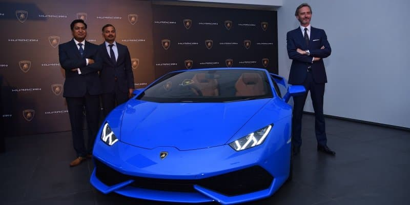 Lamborghini to launch the RWD Huracan Spyder on the 1st of February, 2017
