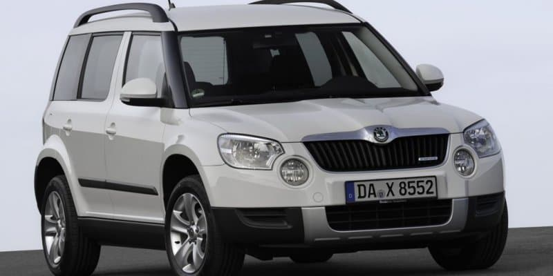 New generation Skoda Yeti spotted in China