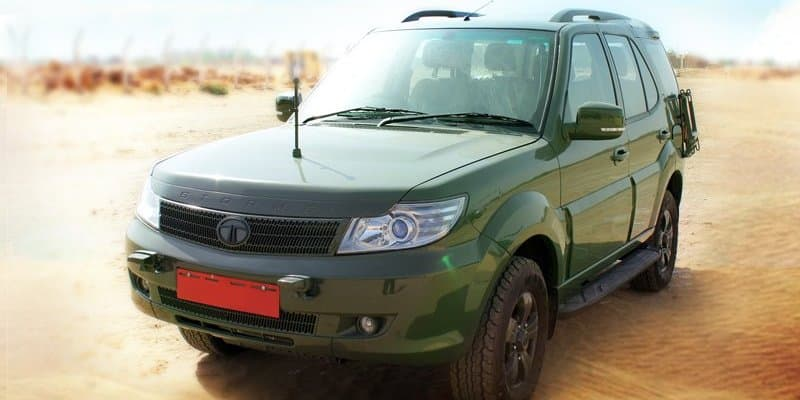 Tata Safari Storme bags first order of 3192 units from Indian Army