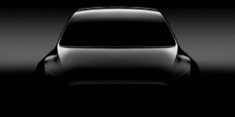 Tesla releases new teaser image of Model Y compact crossover