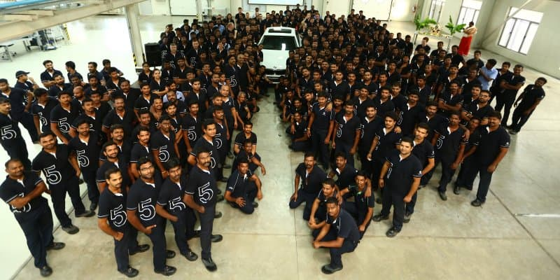 2017 BMW 5 Series Production Starts in Chennai