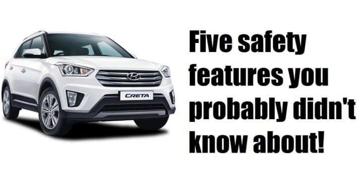 5 safety features you probably didn't know about!