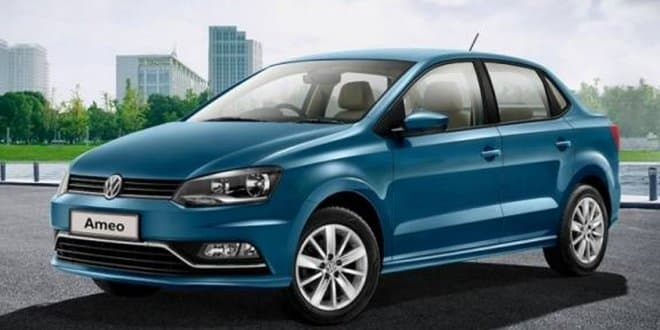 Volkswagen Ameo Highline Plus Price starts at Rs. 7.35 Lakhs