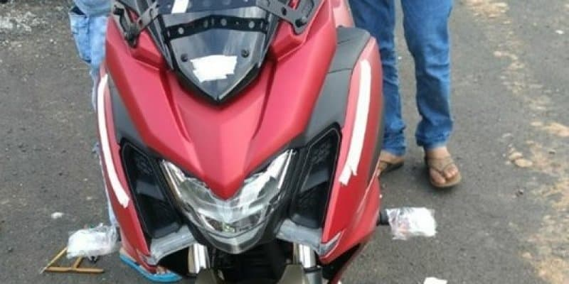 Yamaha Fazer 250 spotted without covers