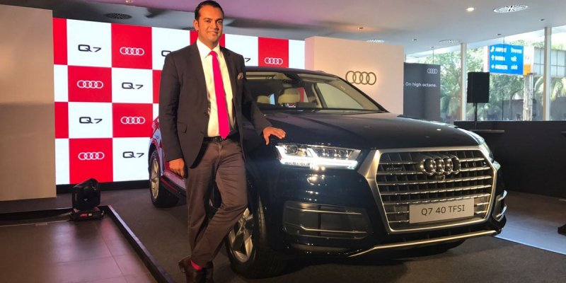 2017 Audi Q7 40 TFSI Quattro launched in India at Rs 67.76 lakh