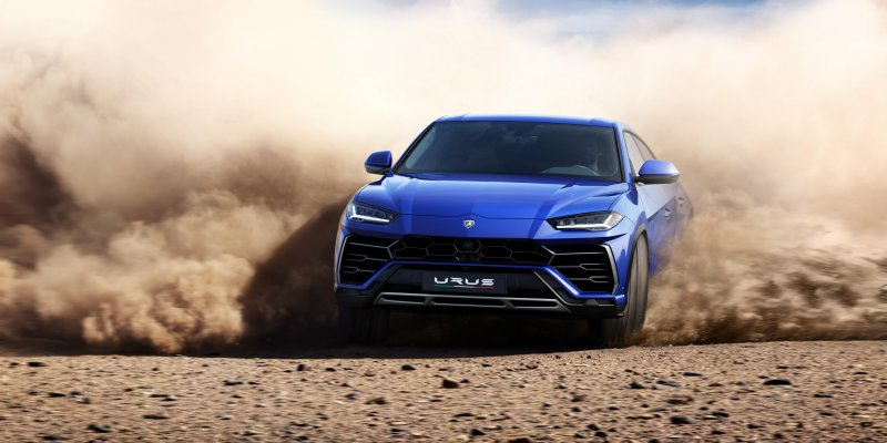 Lamborghini Urus Makes World Premiere