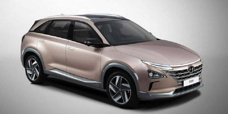 Hyundai reveals Next Gen Fuel Cell Vehicle before the CES 2018 debut
