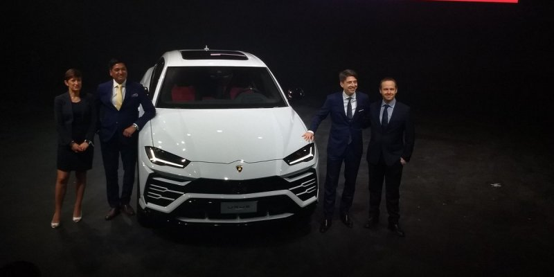 Lamborghini Urus Launched at Rs. 3 Crores