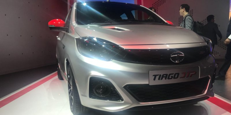 Tata Tiago JTP and Tigor JTP Unveiled At Auto Expo 2018