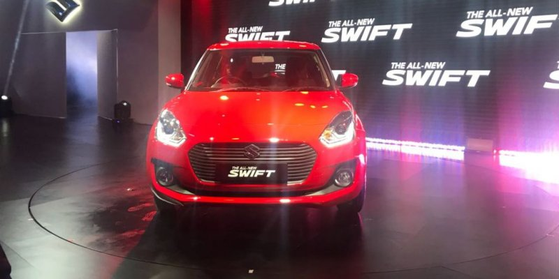 New Maruti Swift Bags Over 60,000 Bookings