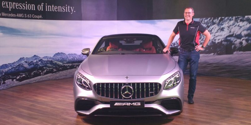 Mercedes-AMG S63 Coupe Launched at Rs 2.55 Crores
