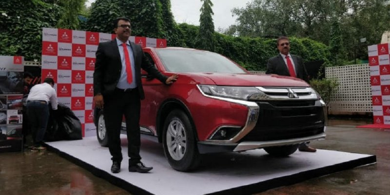 2018 Mitsubishi Outlander Launched in India at Rs 31.95 lakh