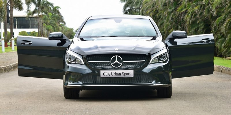 Mercedes-Benz CLA 200 & CLA 200 d Urban Sport Launched in India