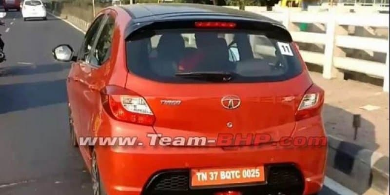 Tata Tiago JTP Spied Ahead of Launch