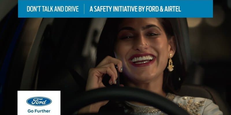Ford Partners with Airtel To Promote Safe Driving Behaviour