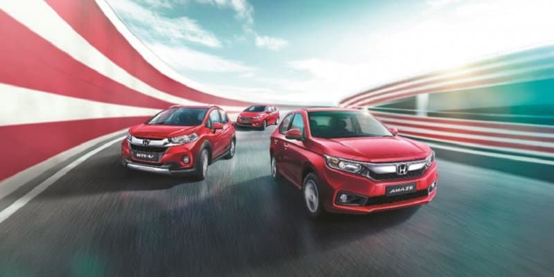 Honda WR-V, Jazz and Amaze Exclusive Variants Launched