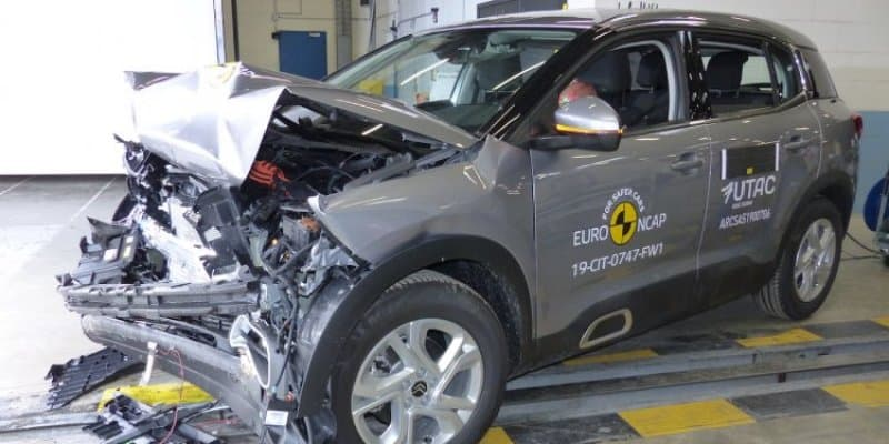 India-bound Citroen C5 Aircross Receives 4-Star Safety Rating