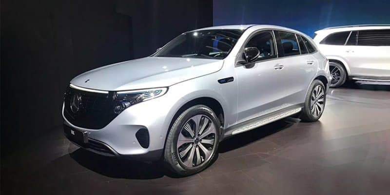 Mercedes-Benz EQC Edition 1886 breaks cover at New York Auto Show
