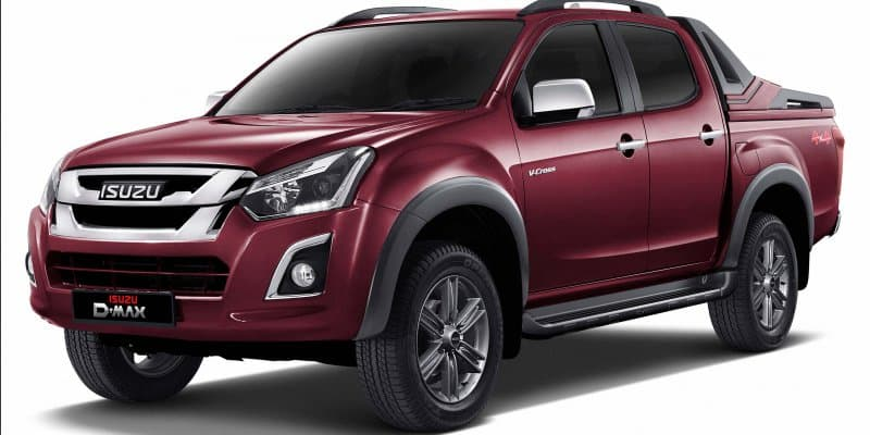 Isuzu D-Max V-Cross Automatic Launched in India At Rs 20 Lakh