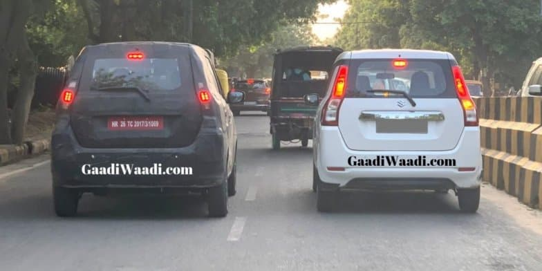 Maruti Wagon R (XL5) Spotted Testing, To Receive LED Taillamps