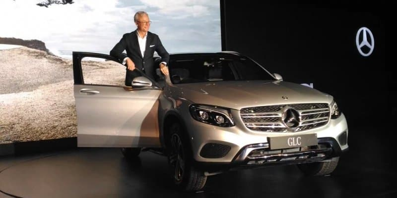 Mercedes-Benz GLC Launched at Rs. 50.70 Lakhs