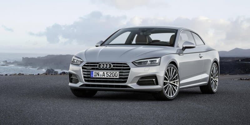 All-New Audi A5 Coupe Revealed