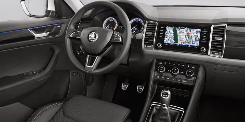 Skoda Kodiaq Interior Revealed in Official Images