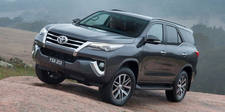 Toyota teases all new Fortuner
